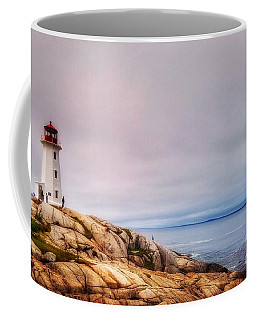 Peggys Point Lighthouse Coffee Mug