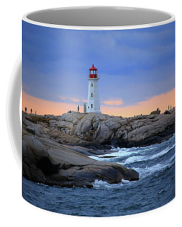 Peggy's Point Lighthouse, Nova Scotia, Canada Coffee Mug
