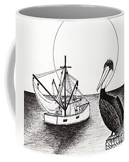 Pelican Fishing Paradise C1 Coffee Mug