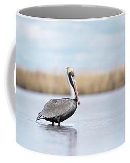 Pelican In Paradise Coffee Mug