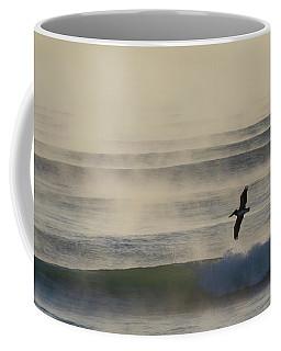 Pelican In Sea Smoke Coffee Mug