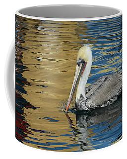 Pelican In Watercolors Coffee Mug