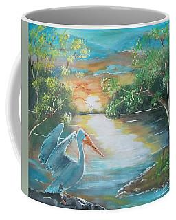Pelican Landed Coffee Mug