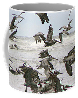 Pelican Migration  Coffee Mug by Pamela Patch