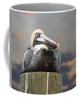 Pelican Perch Coffee Mug