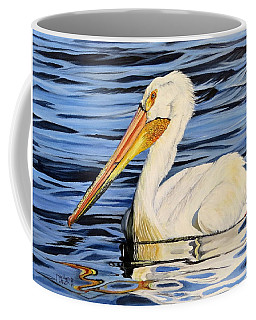 Pelican Posing Coffee Mug
