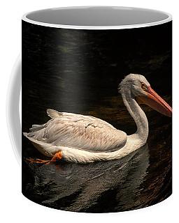 Pelican Swimming In Salisbury Coffee Mug