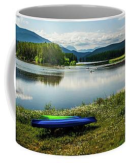 Pelicans At Shadow Mountain Lake Coffee Mug