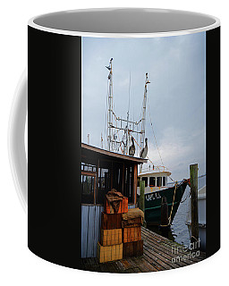 Pelicans Looking For Lunch Coffee Mug