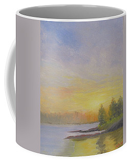 Pemaquid Beach Sunset Coffee Mug