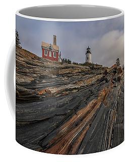 Pemaquid Point Cliffs Coffee Mug