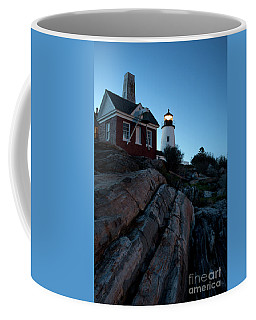Pemaquid Point Light In Early Evening #8147-48 Coffee Mug