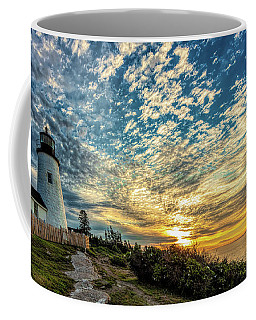 Pemaquid Point Lighthouse At Daybreak Coffee Mug