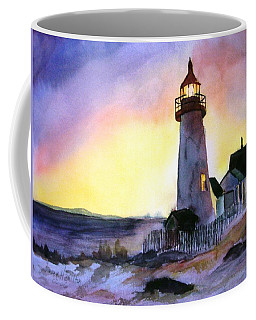 Pemaquid Point Lighthouse Maine Coffee Mug