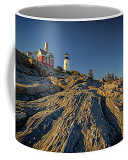 Pemaquid Point Coffee Mug by Rick Berk