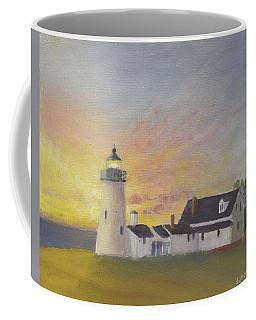 Pemaquid's First Light Coffee Mug