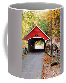 Pemigwasett Covered Bridge Coffee Mug