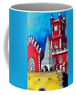 Pena Palace In Portugal Coffee Mug