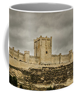 Penafiel Castle, Spain. Coffee Mug