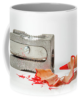 Pencil And Sharpener Coffee Mug