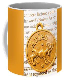 Pendanting The Zodiac Aries Coffee Mug