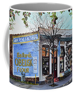 Coffee Mug featuring the painting Penland Bros Store - Ellijay Georgia - Historical Building by Jan Dappen