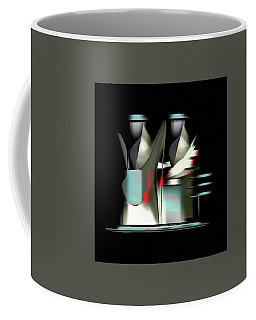 Coffee Mug featuring the painting Penman Original-841 by Andrew Penman