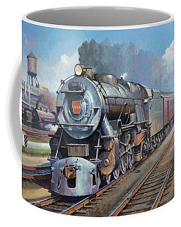 Penn Central Pacific. Coffee Mug by Mike Jeffries