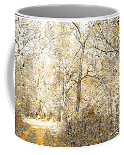 Pennsylvania Autumn Woods Coffee Mug by A Gurmankin