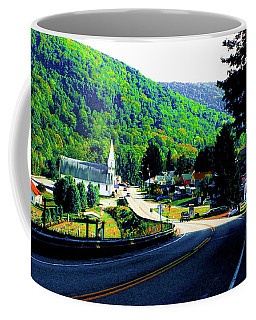 Pennsylvania Mountain Village Coffee Mug