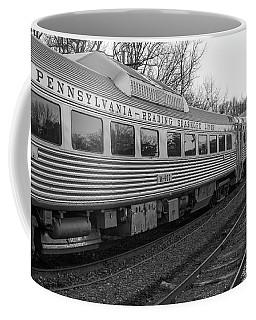 Pennsylvania Reading Seashore Lines Train Coffee Mug