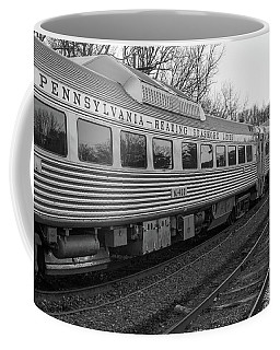 Pennsylvania Reading Seashore Lines Train Coffee Mug