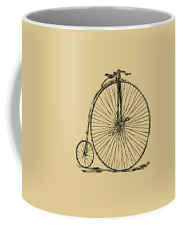 Penny-farthing 1867 High Wheeler Bicycle Vintage Coffee Mug