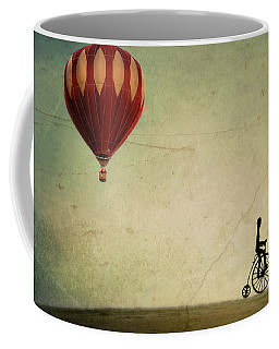 Penny Farthing For Your Thoughts Coffee Mug