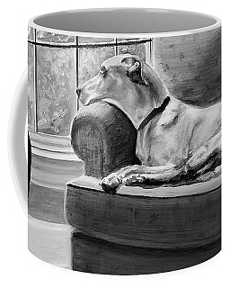 Coffee Mug featuring the painting Penny by Patricia L Davidson