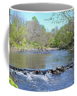 Coffee Mug featuring the photograph Pennypack Creek - Philadelphia by Bill Cannon