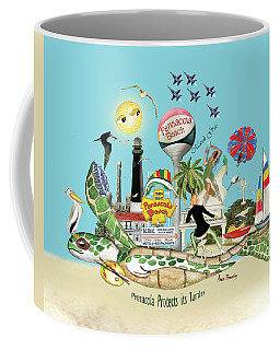 Pensacola Protects It's Turtles Coffee Mug