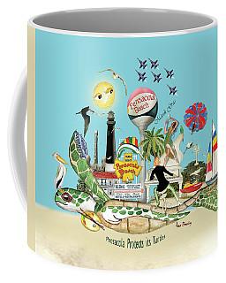 Pensacola Protects It's Turtles Coffee Mug