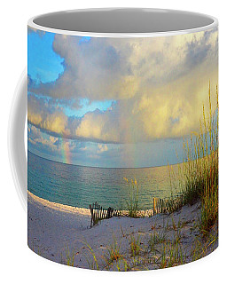 Pensacola Rainbow At Sunset Coffee Mug