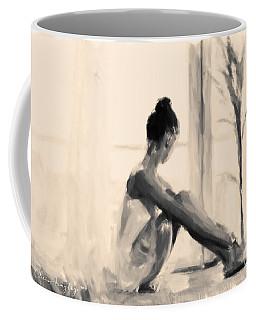 Pensive Ballerina Coffee Mug