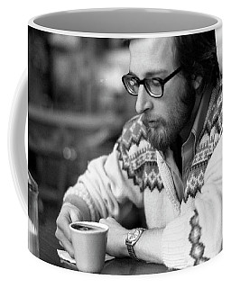 Pensive Brown Student, Louis Restaurant, 1976 Coffee Mug