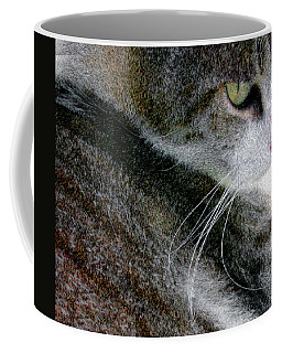 Pensive Coffee Mug by Chuck Mountain