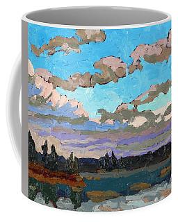 Pensive Clouds Coffee Mug
