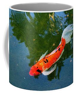 Pensive Koi Coffee Mug