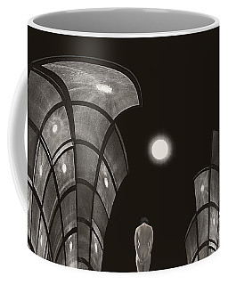Pensive Nude In A Surreal World Coffee Mug by Joe Bonita