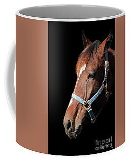 Coffee Mug featuring the photograph Pensive Portrait by Mariarosa Rockefeller