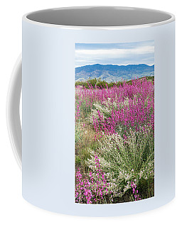 Penstemon At Black Hills Coffee Mug by Karen Stephenson