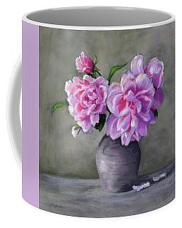 Peonies Coffee Mug