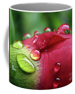 Peony Drops 2 Coffee Mug