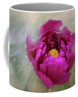 Peony Coffee Mug by Eva Lechner